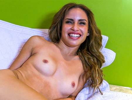 Latina Masturbation - BangBros Guy gives pleasures from his from behind drilling