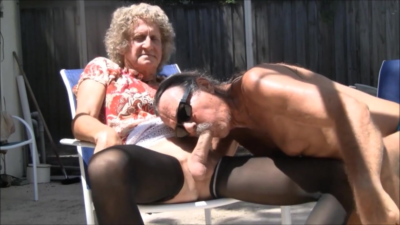 Jamie blows jenny transvestite cock slut! 5 Young tanned brunette