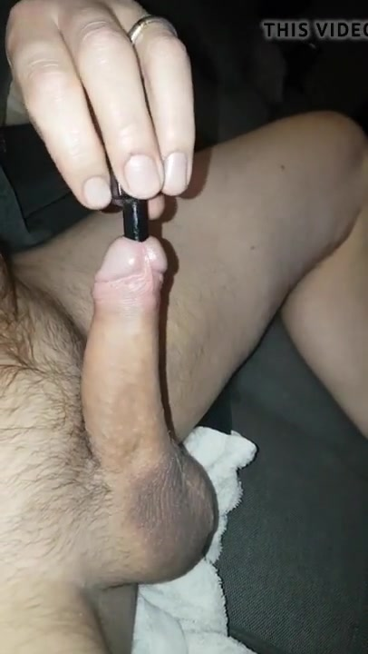 33cm 11 3mm silicone sound deeeep fucking my cock licking shortee asshole youporn