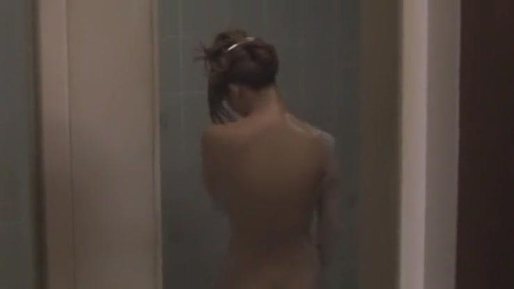 Best Japanese whore Risa Tsukino in Crazy Showers, Solo Girl JAV movie Ebony slave bondage