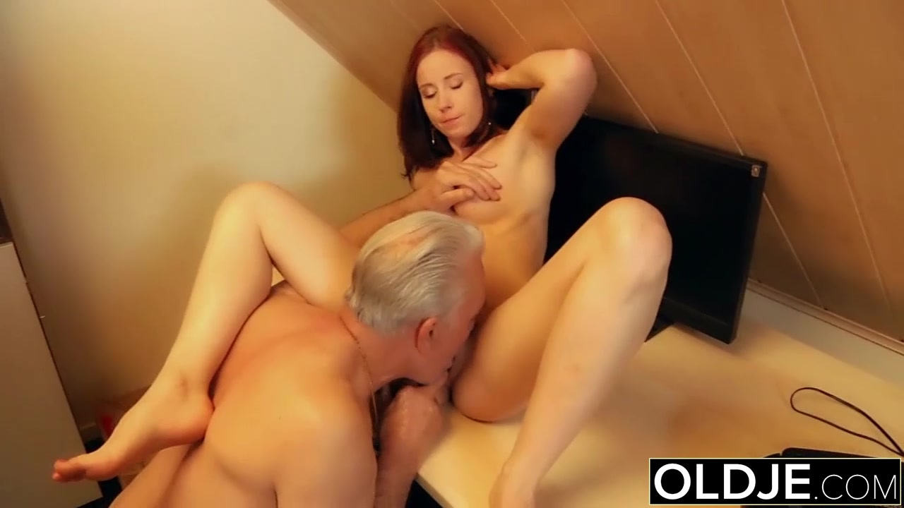 Young slut hard fucked by old horny man in her pussy Lesbian african porn gif