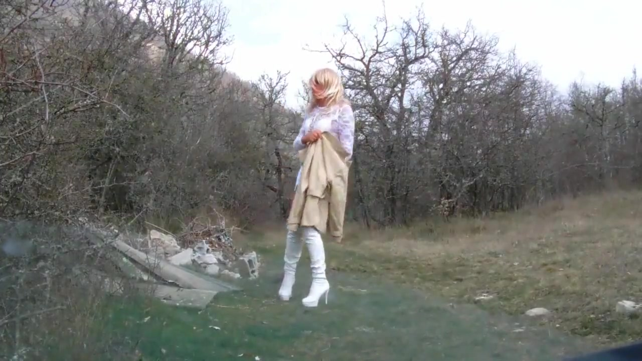 My high boots 5 minute blowjob movie clip