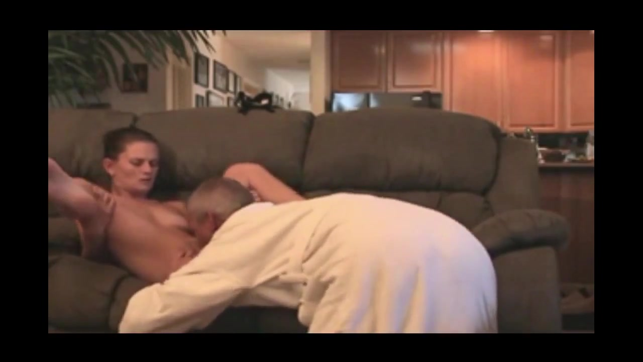 Babysitter earns some extra cash tantric sexual massage of genitals