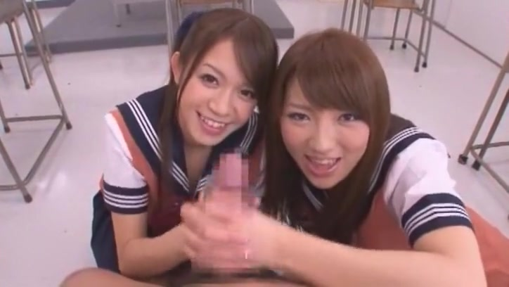 Incredible Japanese chick Shiori Kamisaki, Shelly Fujii, Yu Asakura in Crazy College, POV JAV video