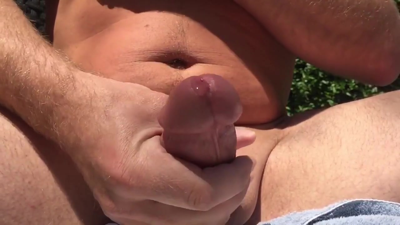 Jerking big cock outside outdoors slow motion cumshot Free lesbian arse licking