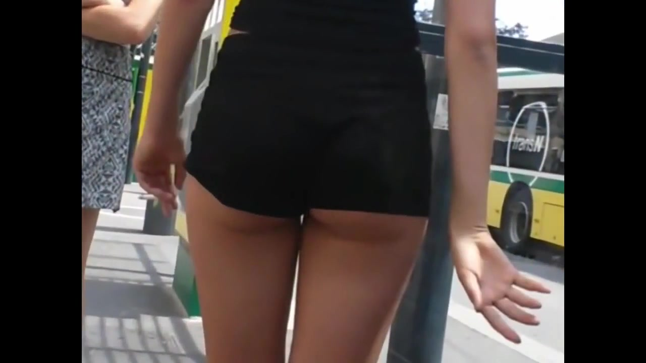Perfect ass college girl