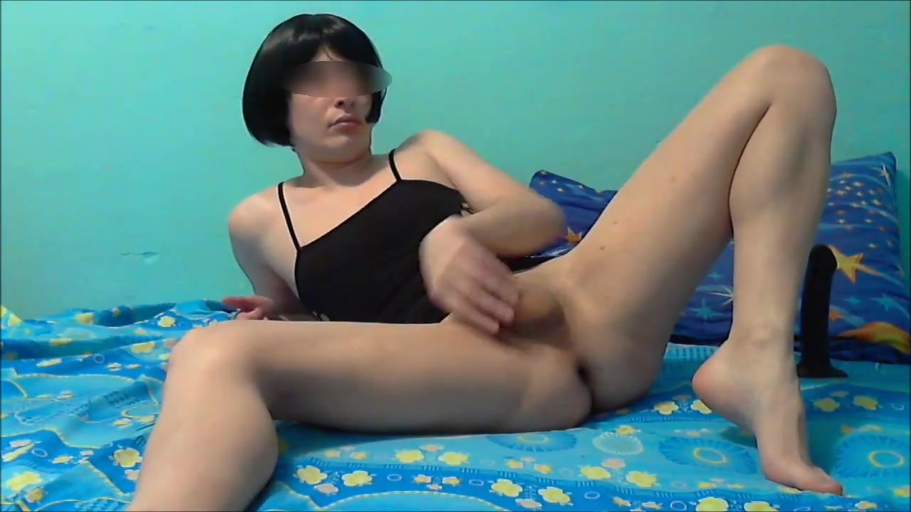 Sissy poses and kneads the ass Your best friend song