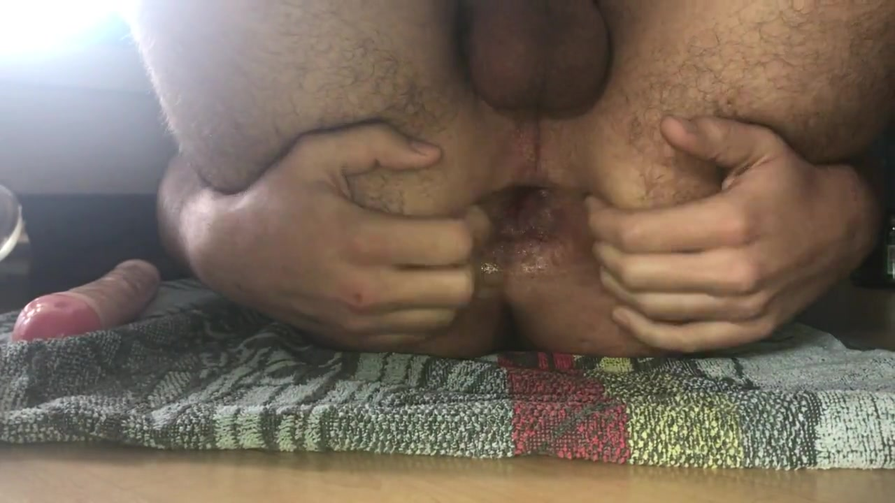 Xtreme tunnel plug closeup army gay sex porn