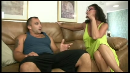 milf oiled young guy