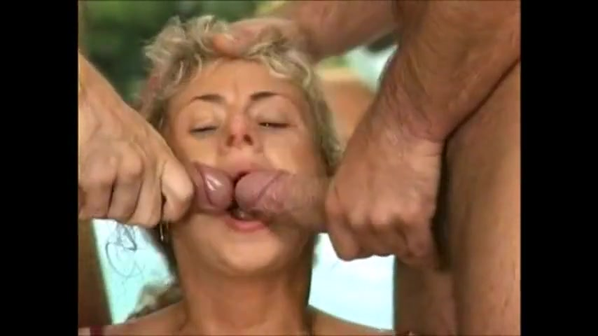 Piss orgy in the park