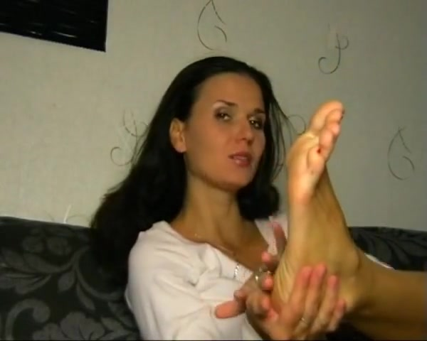 Russian mom loves to smell her own feet Asian Named Dotty