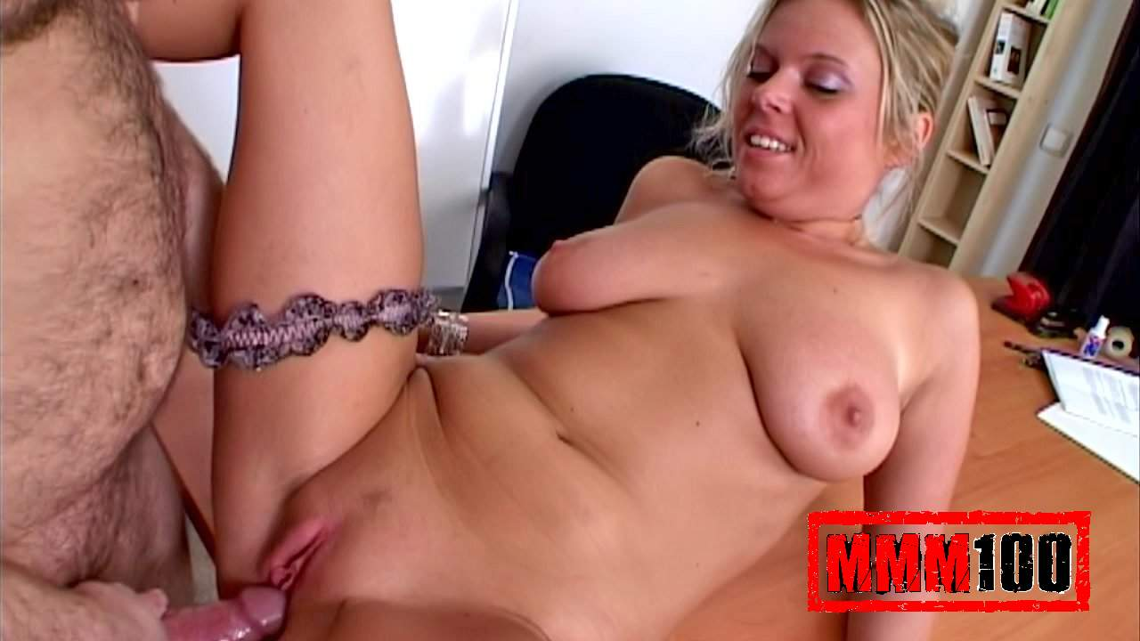 Electra & Terry in The Teachers Big Titis - MMM100 black widow belly inflation