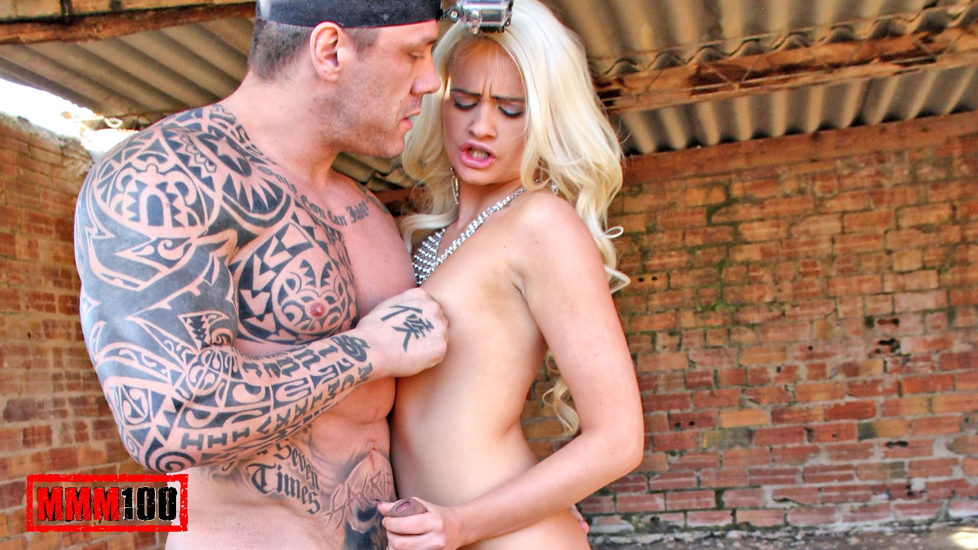 Cindy Sun & Rob Diesel in The Vicking Fucks The Blond Finn - MMM100