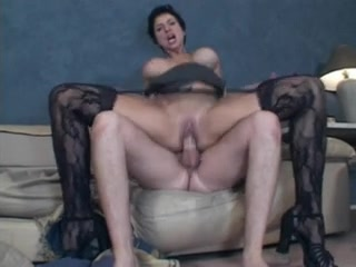 milf with big tits fucked by younger male