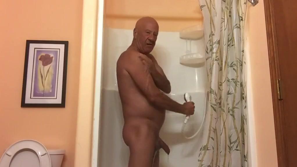 Masturbating in the shower Phat butt fuck