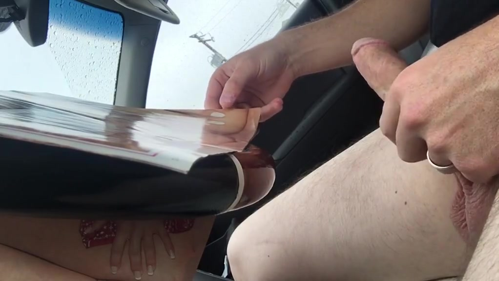 Jerking off in car utube chat with girls