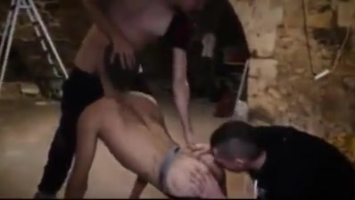 French boys horny 3some in basement Public sex movies