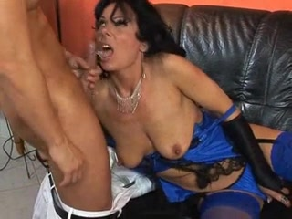 Hot MILF wore stockings while having sex Bbw bust milf fist anal pussy
