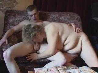 Chubby Mature Gets That Young Cock big boobs pov big tits pov threesome blonde big tits anal