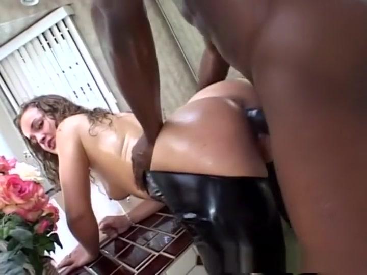 Exotic pornstar Amanda Warren in amazing interracial, brunette sex clip