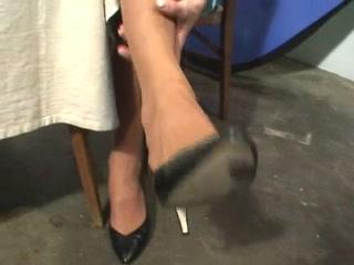 Jenna Js perspired nylons POV Amateur coed hookup sex