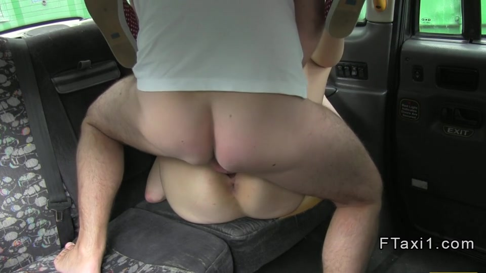 Short haired British blonde fucks in fake taxi A subtle seduction