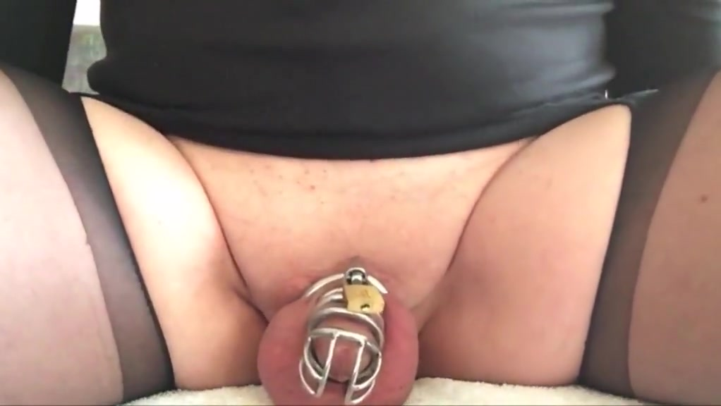 Cuckold sissy with limp dicklet prostate milked Black eyed peas the time dirty bit