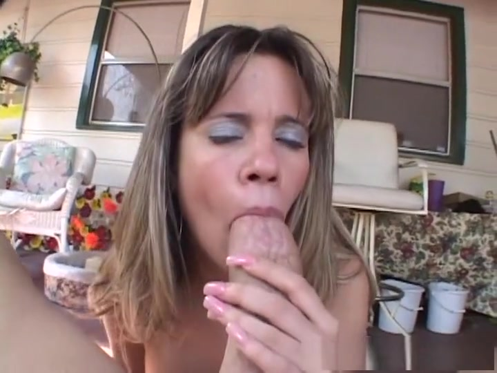 Incredible pornstar Lily Saint in horny outdoor, blowjob sex movie