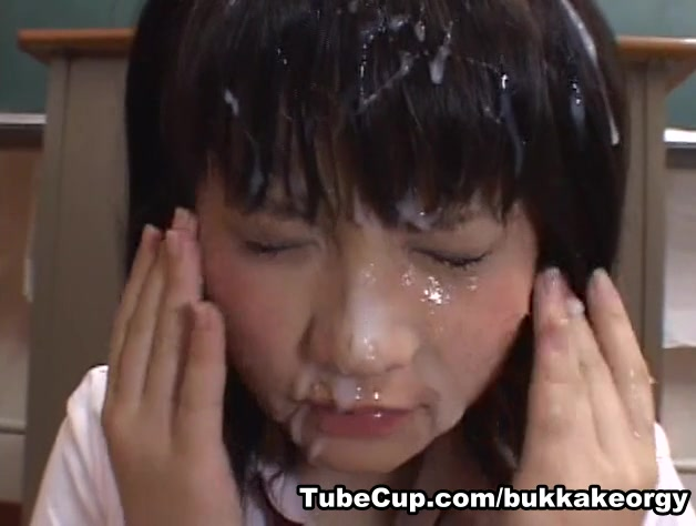JapaneseBukkakeOrgy: Milky Princess PCM-040 model girl showing there