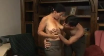Loving couple Housewife Titty Fuck
