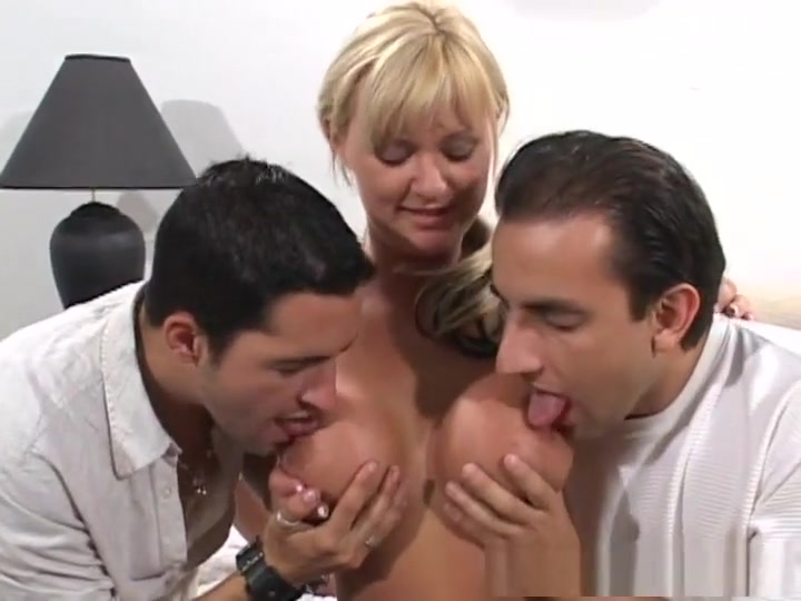 Horny pornstar Allison Kilgore in best threesomes, blonde adult video