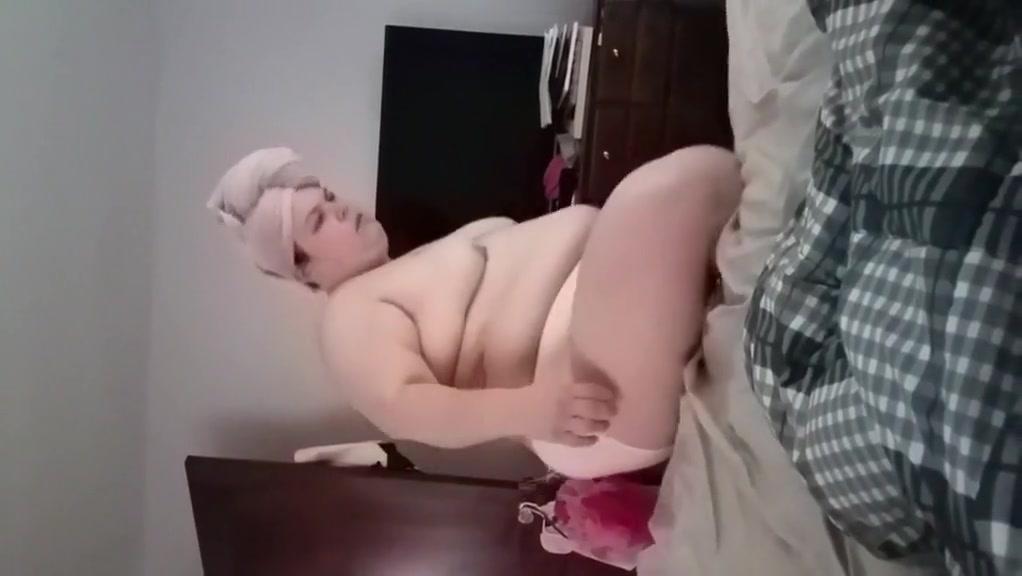 Bbw wife dressing
