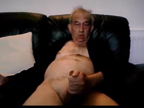 Horny old man runway model breast exposed