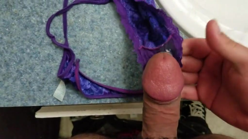 Wifes Panties Already Had a Load in Them Blacksporn bigass round and juicy