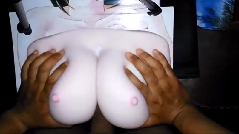 Busty Aichan Paizuri Biggest sexy boobs naked