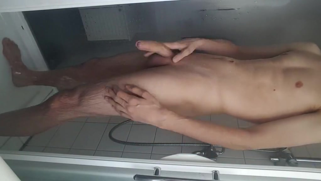 Shaving, jerking my young big cock ass spread boy gay muscle big cock porn