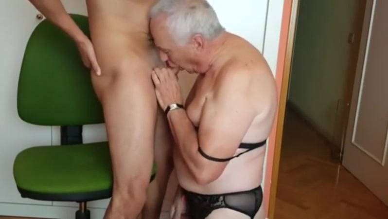 I give an Old Man my Load of Cum Sybian orgasm movies