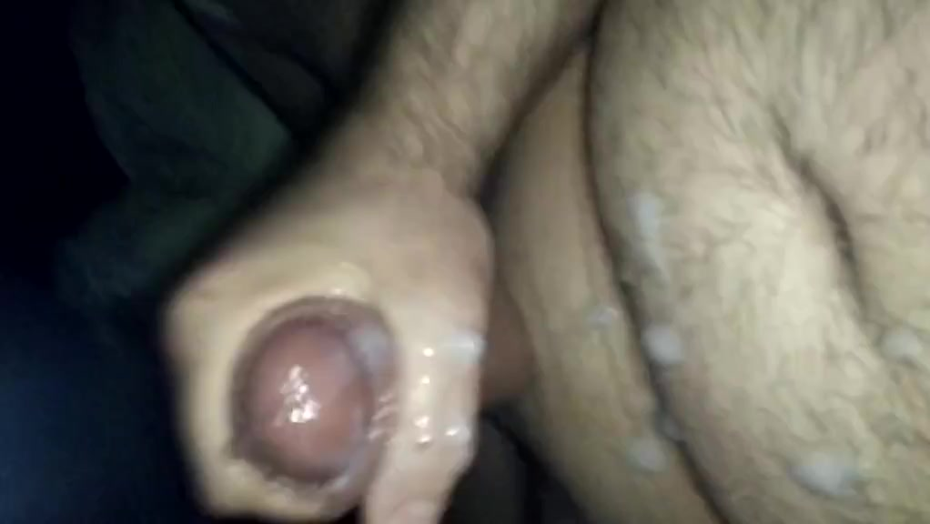 Nice hard cock and cum Mature pussy bent over
