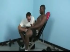 Fabulous gay clip with Men, Interracial scenes Chubby knuckles piano bar