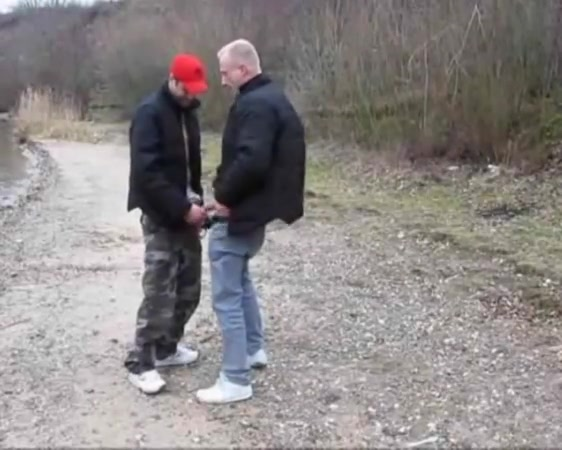 Daddy and younger dude fucking outdoors Best xxx side
