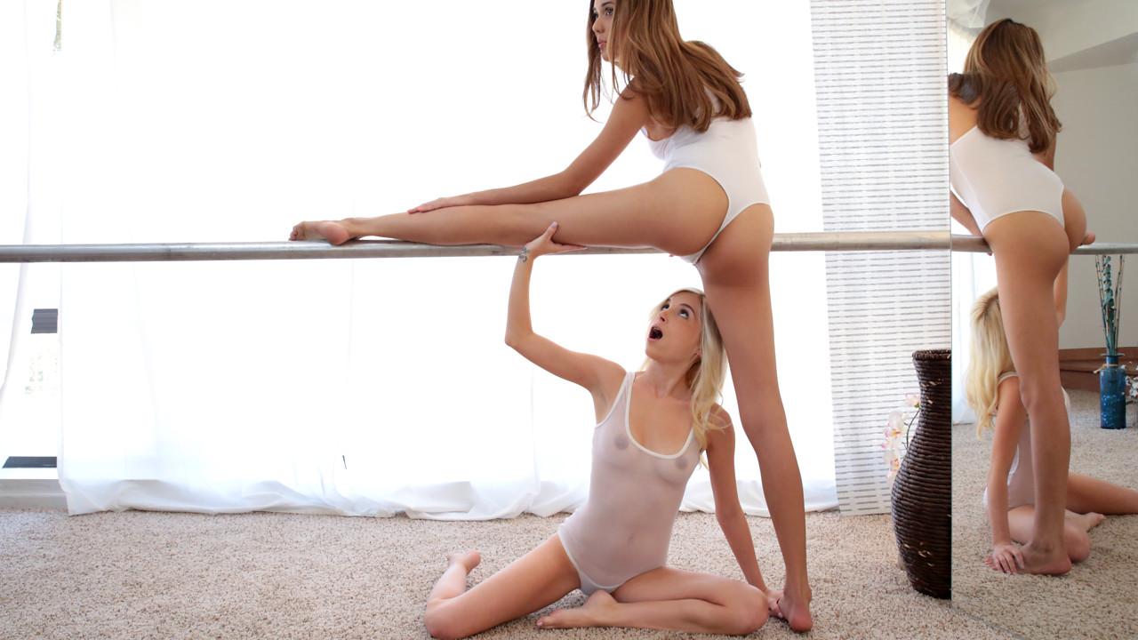 Kristina Bell & Piper Perri in Ballerina Beauties - PetiteHDPorn eat the babysitter s pussy