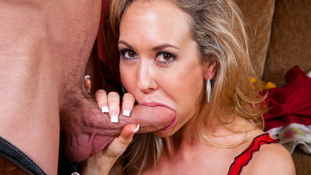 Brandi Love & Jordan Ash in Seduced by a Cougar watching husband jerk off