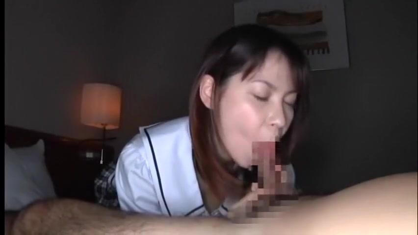 Crazy Japanese girl in Horny Girlfriend JAV movie Cute cheerleader with big tits gifs