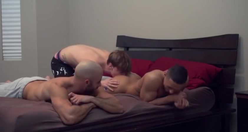 3-some for show Free interracial gangbang tube