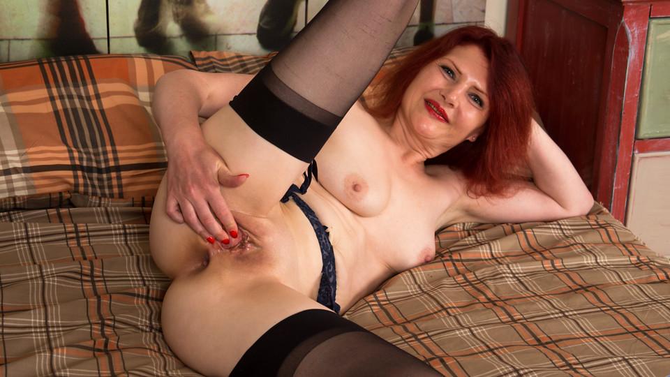 Cee Cee in Black Stockings - Anilos