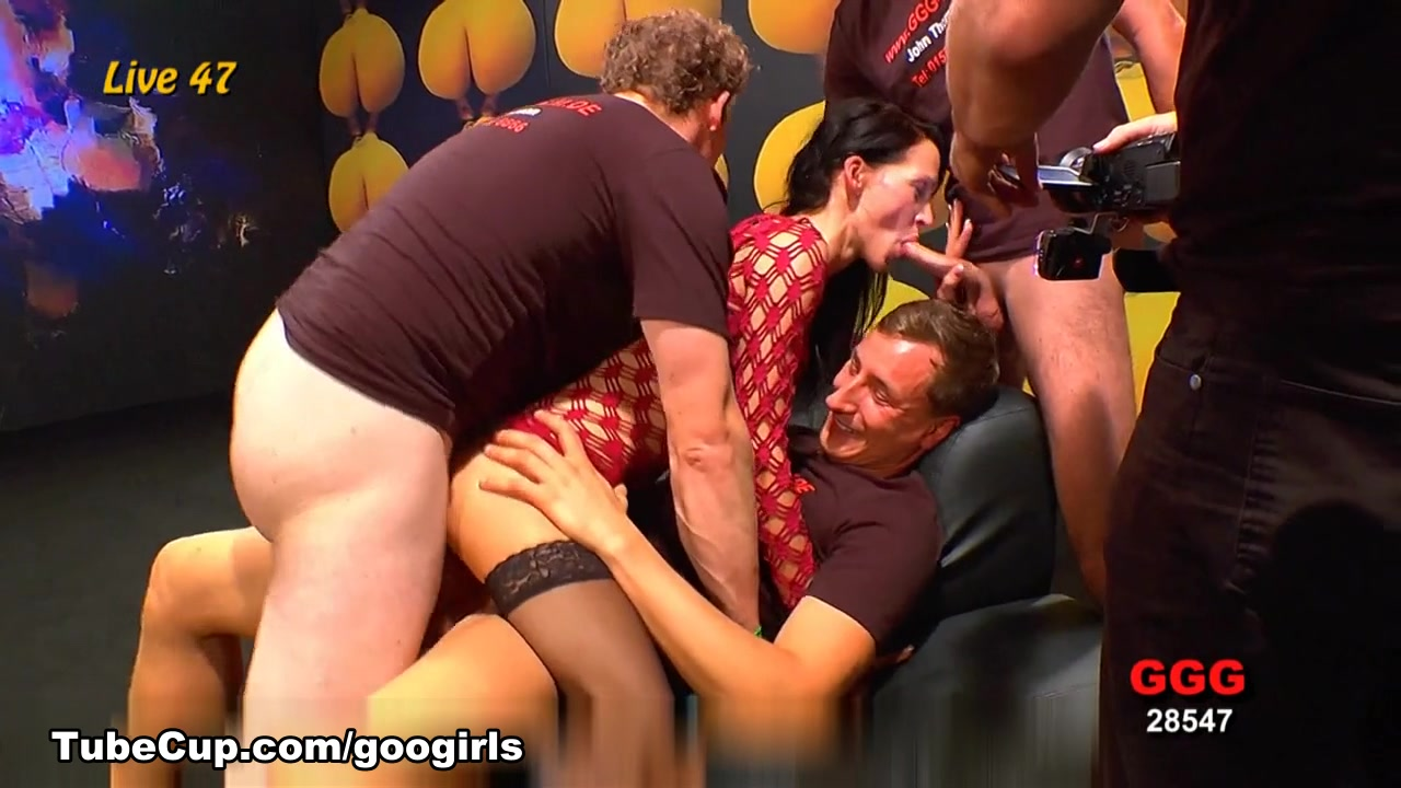 GermanGooGirls Video: GGG Live 047 public naked grill fuck israile
