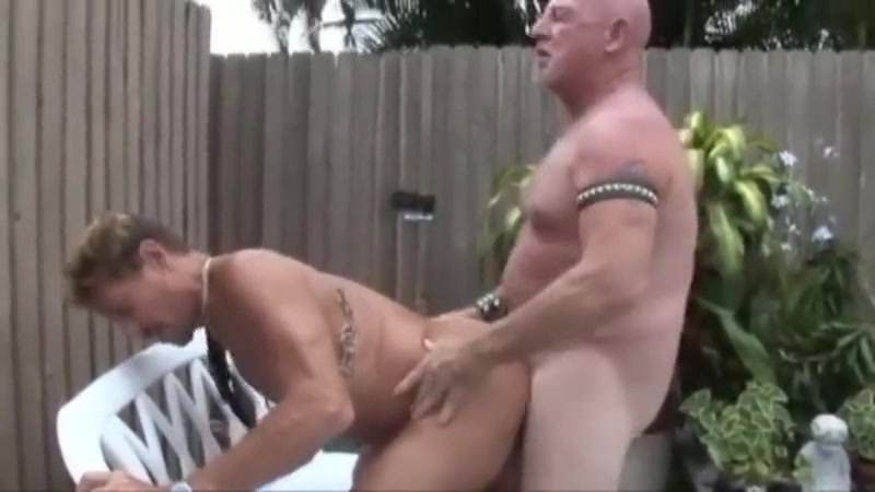 Mature men in the garden Porno star roni s paradise