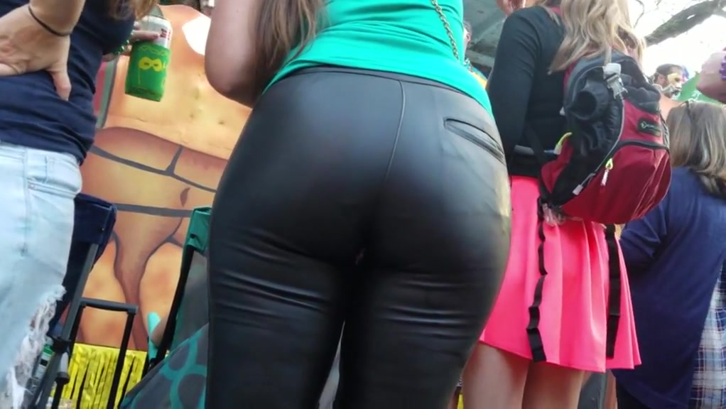Pawg tight leather pants Bbw lesbian ass worship