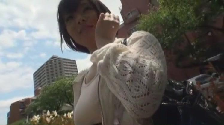 Amazing Japanese chick Momoka Sakura in Best Outdoor JAV video Hidden camera nude pics