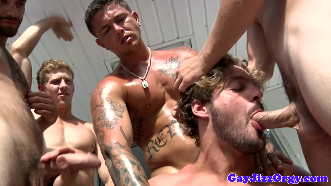 Andrew Blue with a few cocks at an orgy Www xxx video movie com